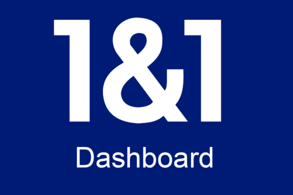 1&1 Dashboard – A design sprint